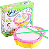 FunBlast® Multicolored Musical Flash Drum For Kids, Musical Drum With Awesome 3D Light