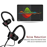 Plustore Bluetooth Earphone Stereo Music Wireless Headphone Bluetooth 4.1 (Black)