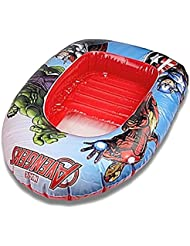 Marvel Avengers Gonflable Bateau Dériveur Enfants Piscine Jouet De Plage
