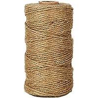 iTemer328 pie cuerda de yute bobinado manual bobinado de jardinería materiales de embalaje industrial aplicación de jardín