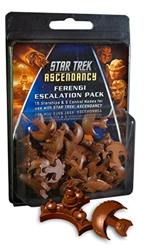 Gale Force Nine GF9ST015 Star Trek: Ascendancy Ferengi Ship Pack - Juego de Cartas Importado de Alemania