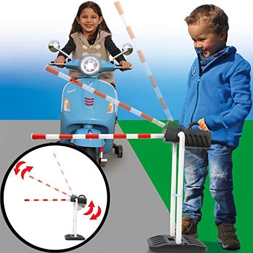 Vehrkehrszeichen / Verkehrsschilder Set Spielzeug Ampel Schilder Kinder Verkehrserziehung (Verkehrsschranke)