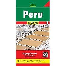 Freytag Berndt Autokarten, Peru - Maßstab 1:1 000 000 (freytag & berndt Auto + Freizeitkarten)