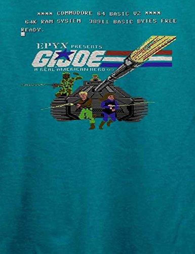 G I Joe T-Shirt Türkis
