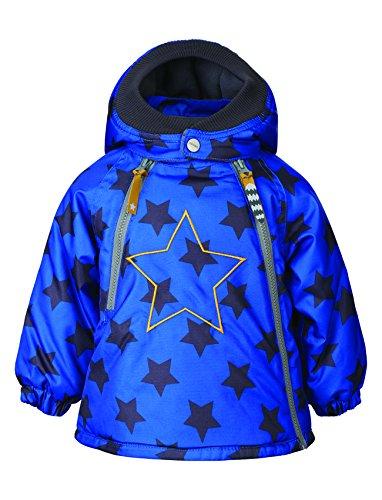 Racoon Baby-Jungen Jacke Sinus Star Winterjacke (9.000 Wassersäule), Blau (Dazzling Blue Daz), 86