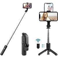 Mobilife Mini Fashion Selfie Stick Tripod Stand Multi-functional Compact Selfie Stick with Non-Slip Tripod Bluetooth…