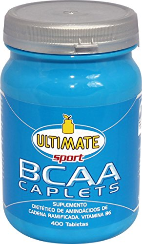 Ultimate Italia BCAA Caplets Aminoacidi Ramificati - 400 Caplets - 51rnv6jLFGL