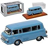 alles-meine.de GmbH Barkas B1000 KB Kleinbus Transporter Blau 1961-1990 DDR 1/43 Atlas Modell Auto mit individiuellem Wunschkennzeichen