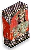 slipp overall origineller Zigarettenschachtel Überzieher aus Karton mit Deckel mit hübschen Motiven (064 Krishna)