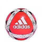 adidas Starlancer V Balón de Fútbol, Hombre, Multicolor (Rojsol/Blanco/Negro), 5