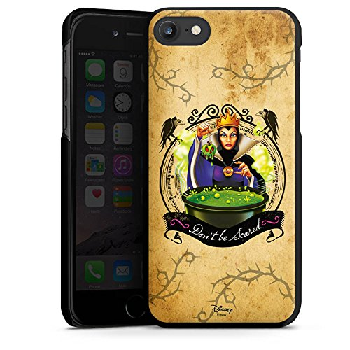 Apple iPhone 7 Plus Silikon Hülle Case Schutzhülle Walt Disney Schneewittchen Hexe Geschenk Hard Case schwarz