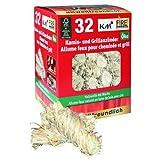 KM Firemaker 5 paquets de 32 allume-feux écologiques pour cheminée et barbecue