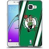 Officiel NBA Rayures Boston Celtics Étui Coque en Gel molle pour Samsung Galaxy A5 (2016)