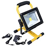 Hotrose 20W Flood Light Portable Rechargeable LED Work - Best Reviews Guide