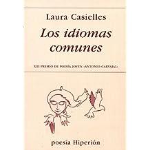 Los idiomas comunes (Poesia Hiperion)