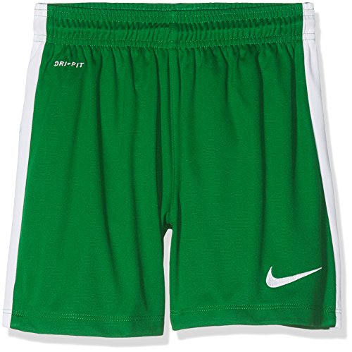 Nike Kinder Shorts League Knit Youth, grün (pine green/White), S, 725990-302