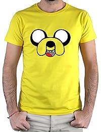 PLANETACAMISETA Camiseta Jake el Perro