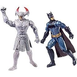 La liga de la Justícia - Pack de 2 figuras báscias, 30 cm (Mattel FGG85)