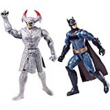 Justice League Action FGG85 Steppenwolf vs Batman Figures, Pack of 2