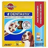 Pedigree Denta Stix Hunde-Zahn-Snack mittelgroße Hunde (10-25kg), Zahnpflege-Snack mit Huhn und Rind, 1 Packung je 56 Stück (1 x 1.44 kg) - 8