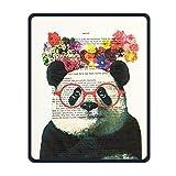 Créer Mon Propre Bureau de Jeu Un Coussin étanche à l'eau sur Un Tapis de Souris en Caoutchouc antidérapante de Tapis de Souris Unique de précision de Joints et de durabilité de journaux Panda