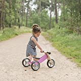 Laufrad aus Holz 4-in-1 Smartbike in Rosa - 9