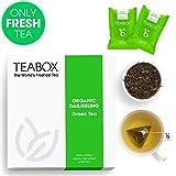 Best Organic Earl Grey Tea - Teabox Organic Darjeeling Green Tea, 32g (16 Teabags) Review