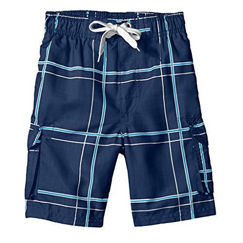 ZEELIY Herren Badeshorts/Badehose Badehose Freizeit Short Schnelltrocknend Badeshorts Hosen Drucken mit Kordelzug Schnelltrocknend