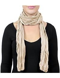 5966e839e825 ADAMANT Damen Schal für Frühling   Sommer verschiedene Farben - Modischer,  leichter Damen Schal für