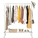 Hilier Heavy Duty Clothes Rail Shelf with Side Hanger Large Storage capacity