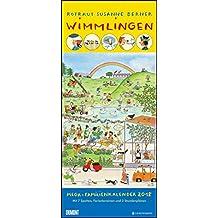 Wimmlingen 2018 – DUMONTMega-Familienkalender mit 7 Spalten – Familienplaner mit 2 Stundenplänen und Ferientabelle - Hochformat 30,0 x 68,5 cm