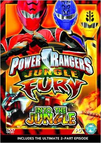 Power Rangers: Jungle Fury Volume  1: Into The Jungle [UK Import]