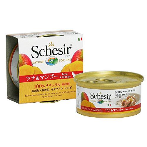 Schesir Cat Thunf.Mango 75gD