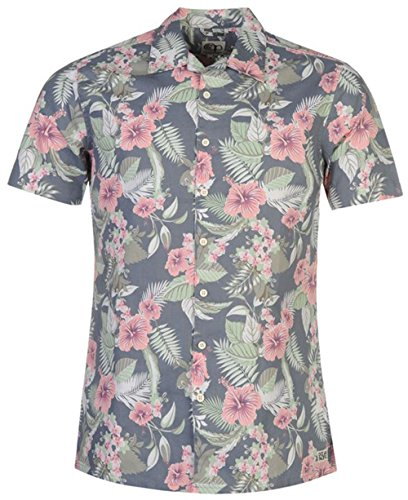mens-lightweight-revere-all-over-print-shirt-cotton-top-medium-blue-floral