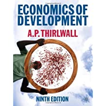Economics of Development: Theory and Evidence by Thirlwall, A.P. (April 1, 2011) Paperback