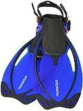 AQUAZON, pinne regolabili, da snorkeling e immersioni, linea: Sydney, per bambini, ragazzi e donne, Blau, 32-37