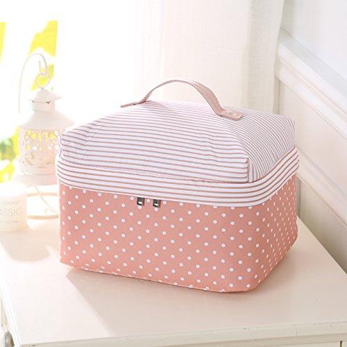 QUS bolsa neceser bolsa de ropa interior espesan bolsa de viaje bolsa de almacenamiento Caja en acabado aparador