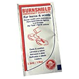 5 x BURNSHIELD Emergency First AID Burn Care SCALDS Cooling Soothing Gel BLOT SACHETS
