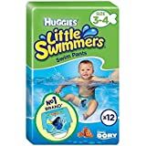 Huggies Little Swimmers Maillots Taille 3–4 Lot de 12 –