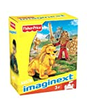 'Imaginext Castle Figure Warrior With Lion Red And Yellow