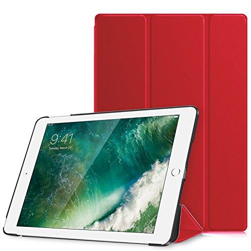 Fintie Nuovo iPad 9.7 Pollici 2018 2017, iPad Air 2, iPad Air Custodia - Sottile Leggero Cover Protettiva Case con Auto Sveglia/Sonno funzione, Grigio Siderale