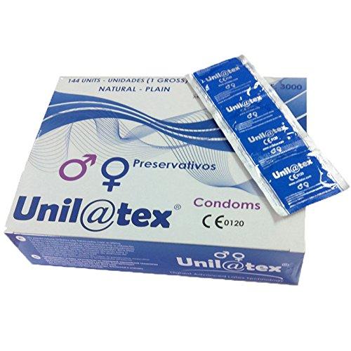 Unilatex Preservativos Naturales - 144 Unidades