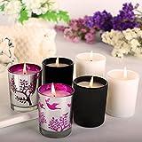 Juego de vela perfumadas tiene 6 fragancias de cera de soja, gardenia, limoncillo, pino, vainilla, lavanda, menta.Vela de soja para el alivio del estrés,y un regalo de Navidad.