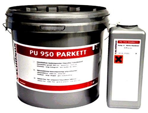 Schönox PU 950-Zweikomponenten-Polyurethan-Klebstoff für Parkett, 6,75 Kg Kom...