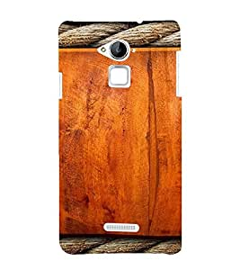PrintVisa Ropes & Wood Design 3D Hard Polycarbonate Designer Back Case Cover for Coolpad Note 3