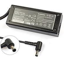 Cargador, Transfo, alimentación, adaptador sector Compatible Bonne qualite para Sony VAIO VGN-NR21Z/T, 19.5V 4.7A 90W, pcdiag/PC Diagnóstico