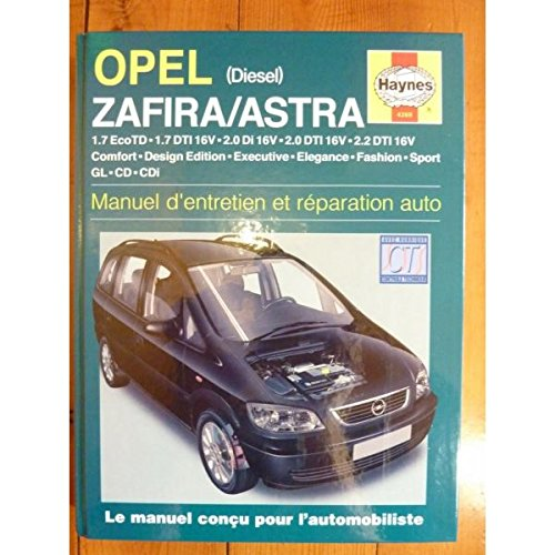 Opel Astra & Zafira Diesel (99 - 05) for sale  Delivered anywhere in UK
