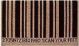 Scan Feet Door Mat, Coir and PVC, 45 x 7...