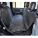 Fragralley Dog Seat Cover Unique Design & Detachable Sherpa Fleece Mat – Ultimate Pet Back Seat Covers for Cars, Trucks… 18