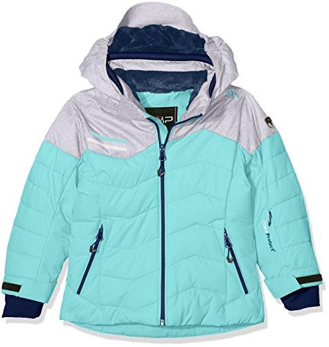 CMP Mädchen Skijacke Jacke, Verde Acqua, 116